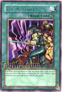 YuGiOh Legacy of Darkness Single Card Rare LOD-027 The A. Forces
