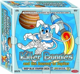 Killer Bunnies and the Journey To Jupiter Trading Card Game Deep Blue Starter Deck