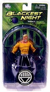DC Direct Green Lantern Blackest Night Series 3 Action Figure Black Lantern Aquaman