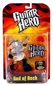 McFarlane Toys Guitar Hero Action Figure God of Rock [White Robe]