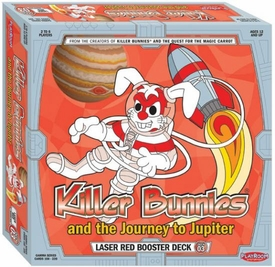 Killer Bunnies and the Journey To Jupiter Trading Card Game Laser Red Booster Deck