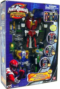 Power Rangers Operation Overdrive Deluxe Figure Triple Transforming Megazord [Set B] (Damaged Packaging)