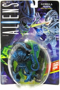 Aliens Kenner Vintage 1992 Action Figure Gorilla Alien [with Face Hugger]