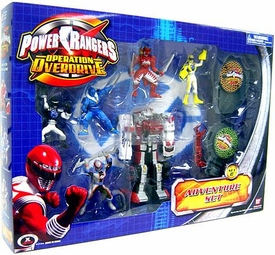 Power Rangers Operation Overdrive Mini PVC Figure Adventure Set C