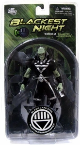 DC Direct Green Lantern Blackest Night Series 2 Action Figure Black Lantern Martian Manhunter