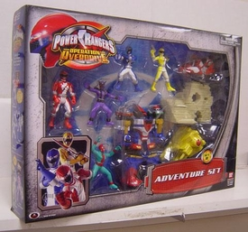 Power Rangers Operation Overdrive Mini PVC Figure Adventure Set B