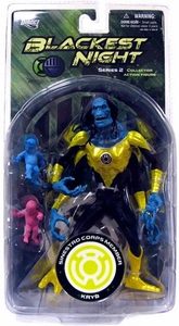 DC Direct Green Lantern Blackest Night Series 2 Action Figure Sinestro Corps KRYB