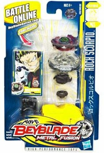 Beyblades Metal Fusion Defense Battle Top #BB65 Rock Scorpio