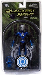 DC Direct Green Lantern Blackest Night Series 1 Action Figure Blue Lantern Saint Walker