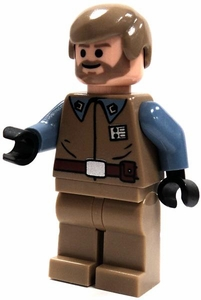 LEGO Star Wars LOOSE Mini Figure Rebel Officer Crix Madine [Blue Sleeves]