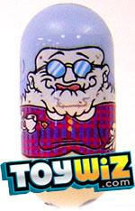 Mighty Beanz Series 3 Rare Old Folk Single #157 Gran Bean