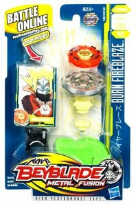 Beyblades Metal Fusion Stamina Battle Top #BB59 Burn Fireblaze