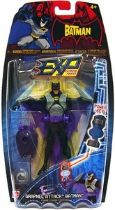 The Batman EXP Extreme Power Series 1 Action Figure Grapnel Attack Batman