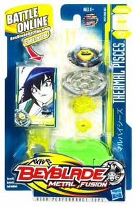 Beyblades Metal Fusion Stamina Battle Top #BB57 Thermal Pisces