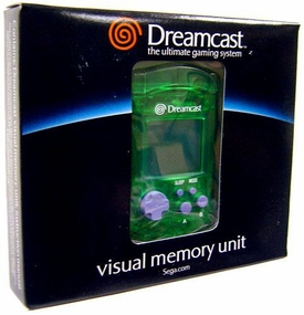 SEGA Dreamcast Green Visual Memory Unit [VMU]