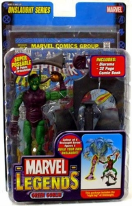Marvel Legends Series 13 Action Figure Green Goblin [Onslaught Build-A-Figure]