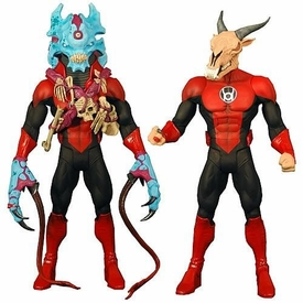 Green Lantern Classics Series 2 Action Figure Red Lantern Skallox OR Nite-Lik [Build Stel Piece]