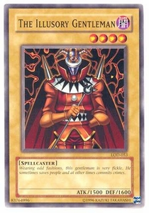 YuGiOh Legacy of Darkness Single Card Common LOD-053 The Illusory Gentleman