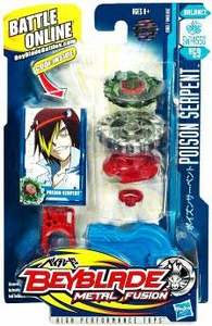 Beyblades Metal Fusion Balance Battle Top #BB69 Poison Serpent