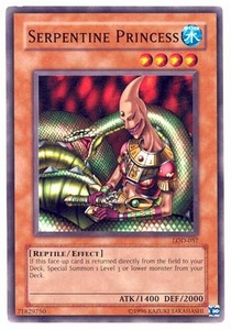 YuGiOh Legacy of Darkness Single Card Common LOD-057 Serpentine Princess