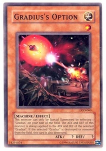 YuGiOh Legacy of Darkness Single Card Common LOD-060 Gradius' Option