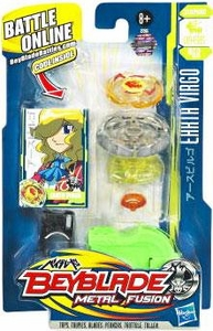 Beyblades Metal Fusion Stamina Battle Top #BB60 Earth Virgo
