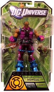 Green Lantern Classics Series 1 Action Figure Mongul [Build Arkillo Piece]