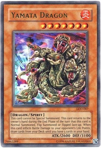 YuGiOh Legacy of Darkness Single Card Ultra Rare LOD-067 Yamata Dragon