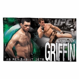 Wincraft UFC & MMA Mixed Martial Arts Wall Banner Forrest Griffin