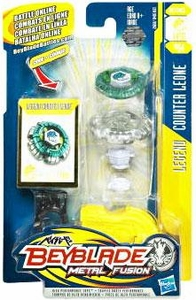 Beyblades Metal Fusion Defense Battle Top #BB04 Counter Leone [Legend]