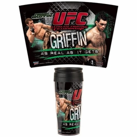 Wincraft UFC & MMA Mixed Martial Arts Travel Mug Forrest Griffin