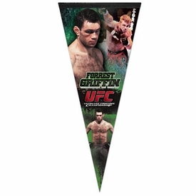 Wincraft UFC & MMA Mixed Martial Arts Premium Pennant Forrest Griffin