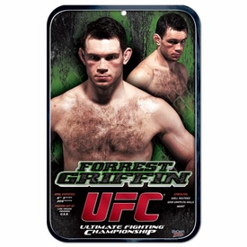 Wincraft UFC & MMA Mixed Martial Arts Sign Forrest Griffin
