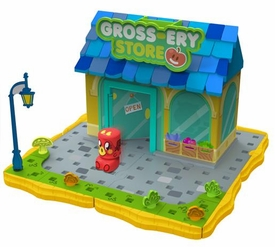 Moshi Monsters Bobble Bots Store Playset Gross-ery Store with Burnie [500 Rox]