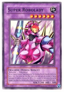 YuGiOh Legacy of Darkness Single Card Common LOD-073 Super Robolady