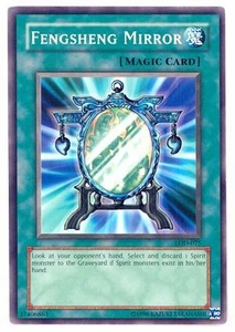 YuGiOh Legacy of Darkness Single Card Common LOD-075 Fengsheng Mirror