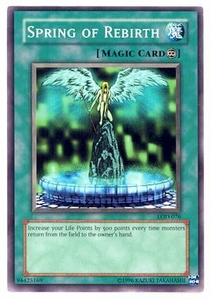 YuGiOh Legacy of Darkness Single Card Common LOD-076 Spring of Rebirth