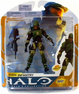 Halo 3 McFarlane Toys Series 8 Action Figure Marine Infantry