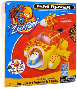 Zhu Zhu Zhu-Fari Pet & Baby Fun Rover with Baby Penguin