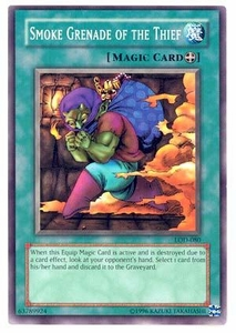YuGiOh Legacy of Darkness Single Card Common LOD-080 Smoke Grenade of the Thief