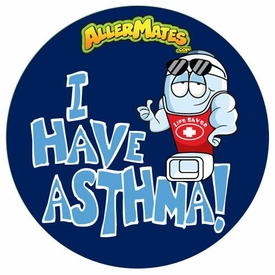 Asthma Alert Stickers Pack of 24