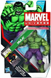 Marvel Universe 3 3/4 Inch Series 18 Action Figure #9 GREEN Hulk [New Sculpt!]