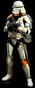 Sideshow Collectibles Militaries of Star Wars Deluxe 12 Inch Action Figure Utapau Airborne Trooper