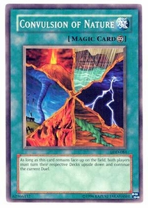 YuGiOh Legacy of Darkness Single Card Common LOD-084 Convulsion of Nature