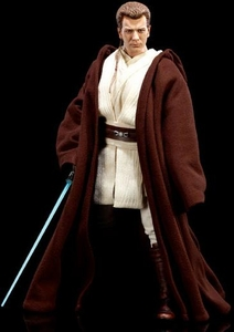 Sideshow Collectibles Order of the Jedi Deluxe 12 Inch Action Figure Obi-Wan Kenobi: Jedi Padawan