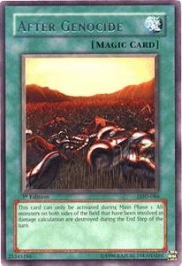 YuGiOh Legacy of Darkness Single Card Rare LOD-086 After Genocide