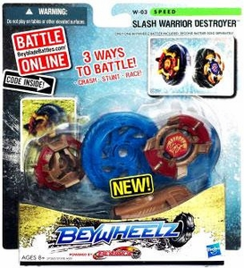 Beyblades Beywheelz Speed  #W-03 Slash Warrior Destroyer