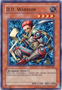 YuGiOh Tournament Pack 7 Single Card Ultra Rare TP7-EN001 D.D. Warrior