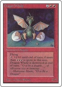 Magic the Gathering Unlimited Edition Single Card Uncommon Dragon Whelp