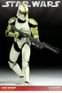 Sideshow Collectibles Militaries of Star Wars 12 Inch Deluxe Action Figure Clone Trooper Sergeant [Phase 1]